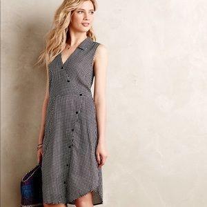 Anthropologie Tylho Gingham dress S Small